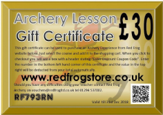 Gift Vouchers For Lessons